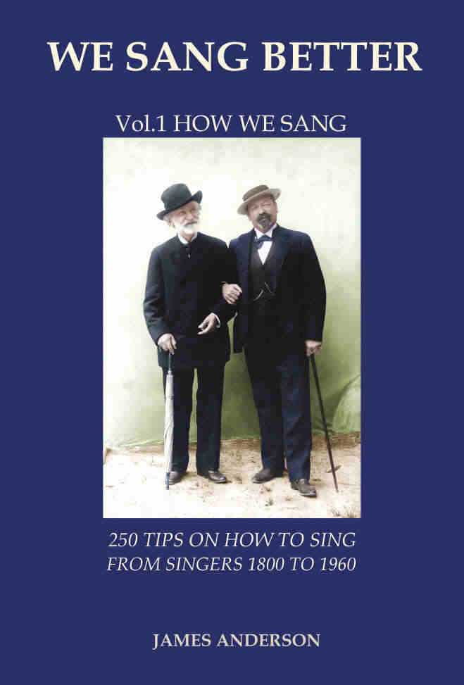 250 singing tips on how to sing - WE SANG BETTER - How we sang